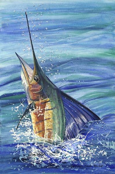 Salt Water Pride Sailfish Art | ColleenNashBecht