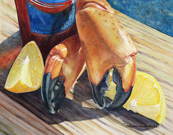 Stoned Crab Claws   Stoned Again Art | ColleenNashBecht