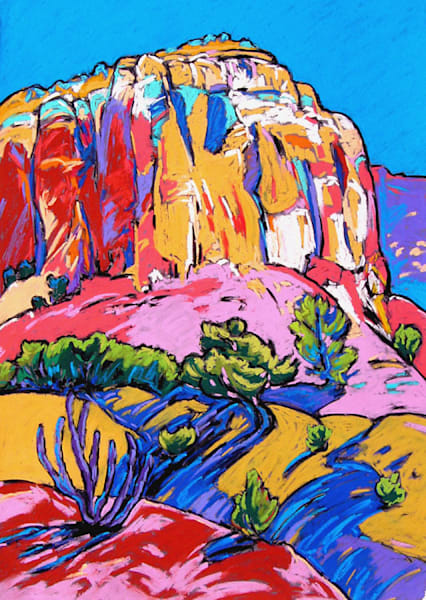 Yellow Mountains Art | Sally C. Evans Fine Art