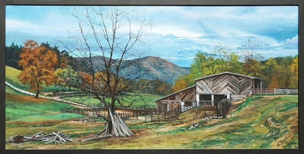 Appalachian Farm painting | Kevin Grass Fine Art