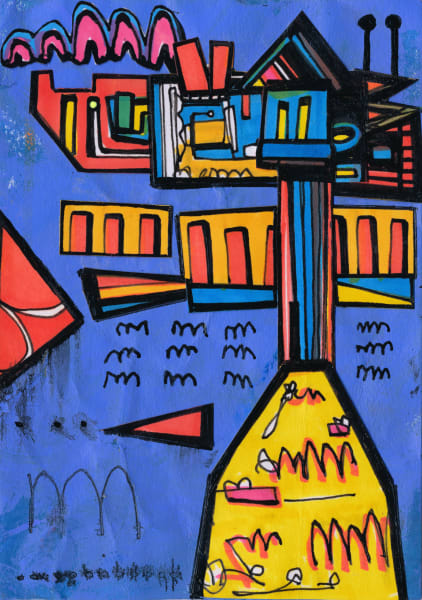 Refreshing-Painting- Joseph- Meloy-wet-paint-nyc