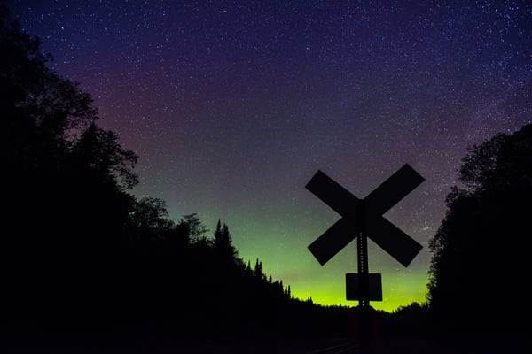 Northern Lights Carter Station Photography Art | Kurt Gardner Photogarphy
