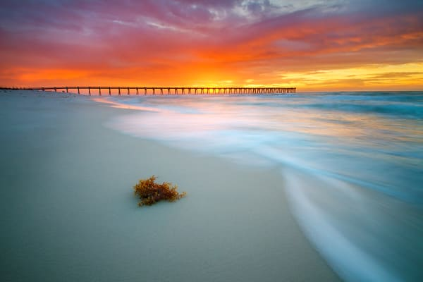 Florida's Emerald Coast Piers and Bridges Fine Art Photographs - Fine Art Prints on Canvas, Paper, Metal, & More | Waldorff Photography