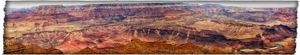Grand Canyon Panorama photograph by Richard Stefani