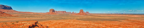 Monument Valley Panorama photograph by Richard Stefani for sale.
