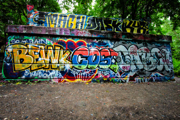 Graffiti Entrance Fine Art Photograph | JustBob Images