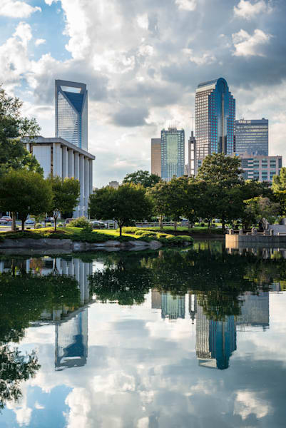 Reflections of Charlotte Photograph for Sale as Fine Art