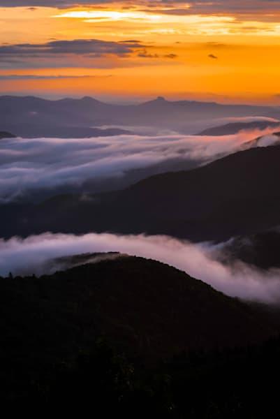 Mystic Blue Ridge Mountains Photograph for Sale as Fine Art