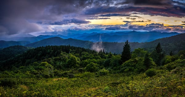 Cowee Mountain Panoramic Photograph for Sale as Fine Art