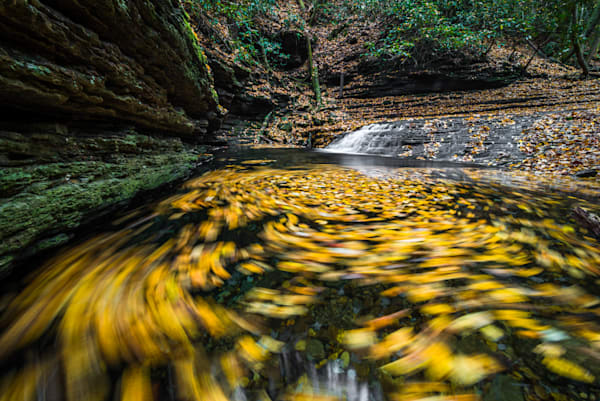 Devils Bathtub Falls Photograph for Sale as Fine Art