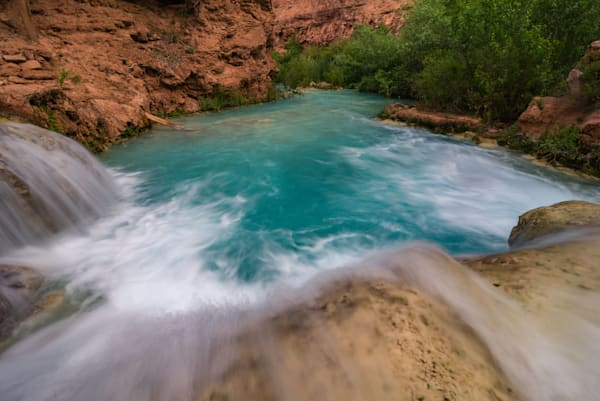 Havasupai Cascade Photograph for Sale as Fine Art