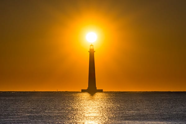 Morris Island Lighthouse Photograph for Sale as Fine Art