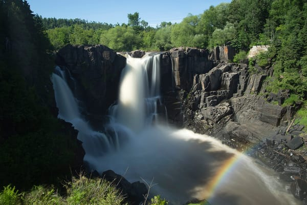 Beautiful fine art photograph prints of High Falls waterfall, Minnesota.