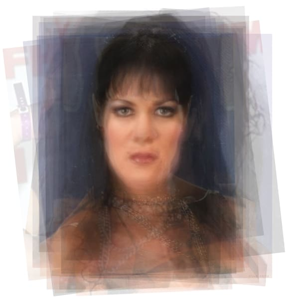Overlay art – contemporary fine art prints of Chyna