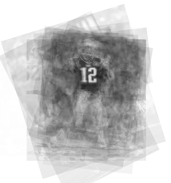 Overlay art – contemporary fine art prints of Tom Brady
