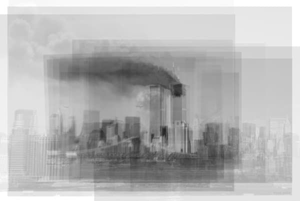 Overlay art – contemporary fine art prints of the World Trade Center