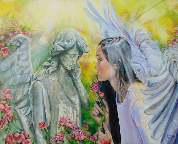 """Angels and Roses"" by Gina Harding 