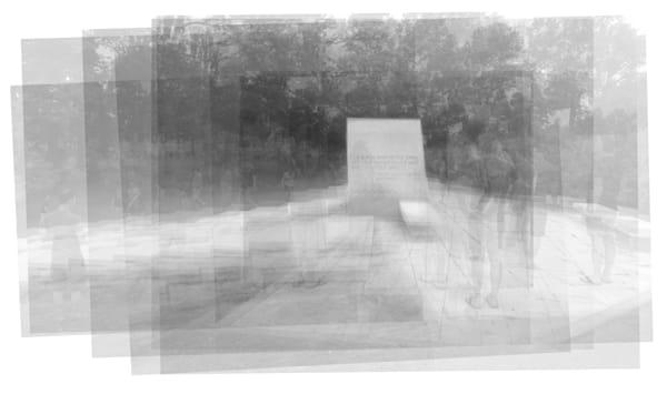 Overlay art – contemporary fine art prints of Frank Lloyd Wright's Blue Sky Mausoleum