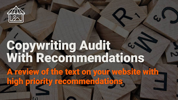 Professional Copywriting Audit With Recommendations    Art Storefronts
