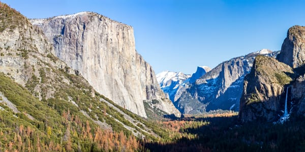Yosemite Valley From Tunnel View Photograph For Sale As Fine Art