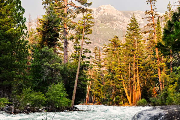 Golden Hour Light On Kings River Photograph For Sale As Fine Art