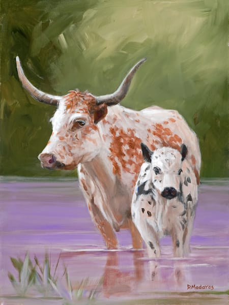 Cow for a Day | Southwest Art Gallery Tucson | Madaras