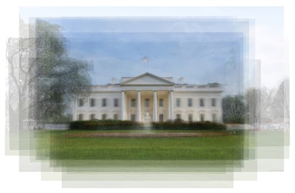 Overlay art – contemporary fine art prints of the White House