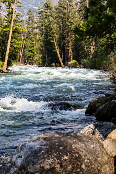 Rocky Kings River Photograph For Sale As Fine Art