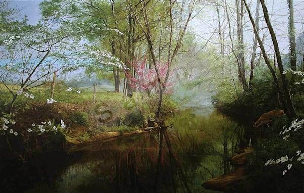 Secret Place on Fine Art Paper for Sale