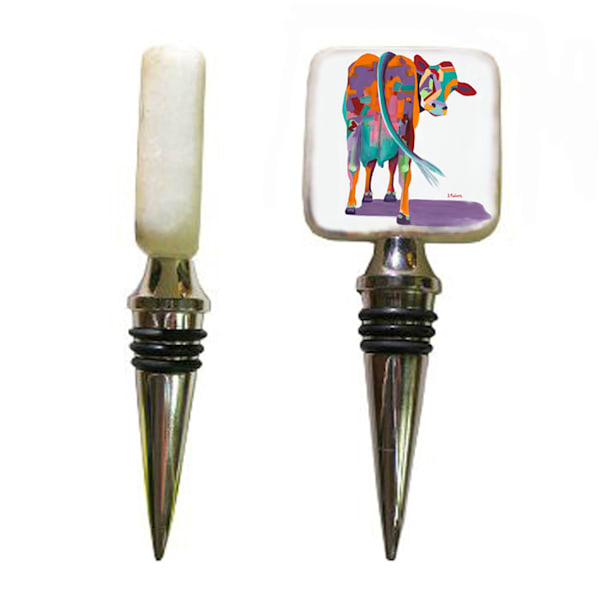 Cow Wine Stoppers | Southwest Art Gifts | Tucson Gallery