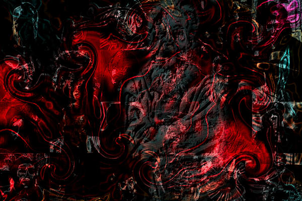 The unseen personal Hell   Mark Humes Gallery