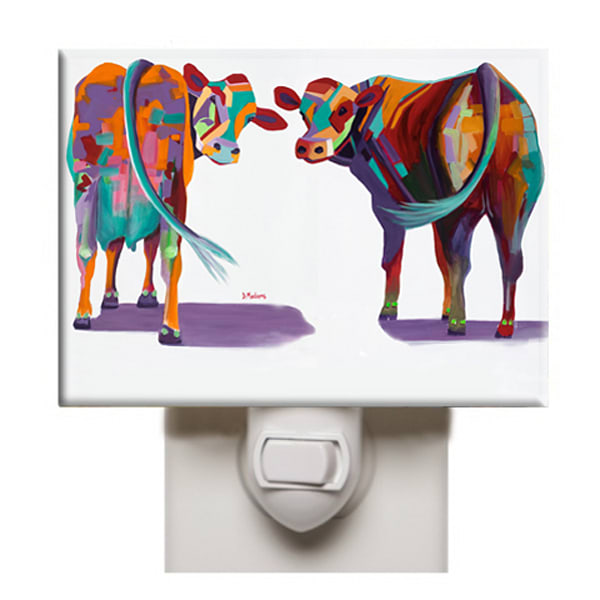 Cow Night Lights | Southwest Art Gifts | Tucson Gallery