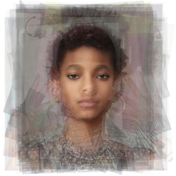 Overlay art – contemporary fine art prints of Willow Smith