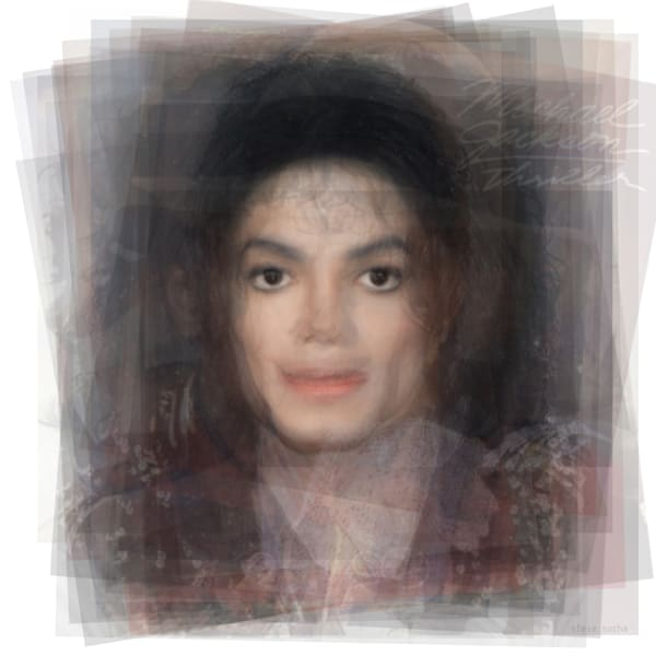 Overlay art – contemporary fine art prints of Michael Jackson