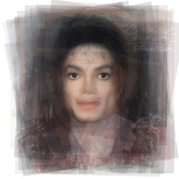 Overlay art – contemporary fine art prints of Michael Jackson