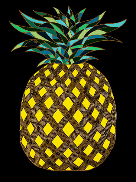 THE GOLDEN PINEAPPLE - Original