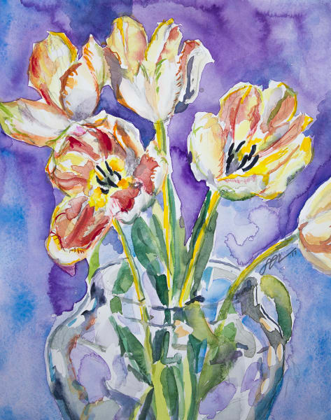 Tiger Tulips Fine Art Print