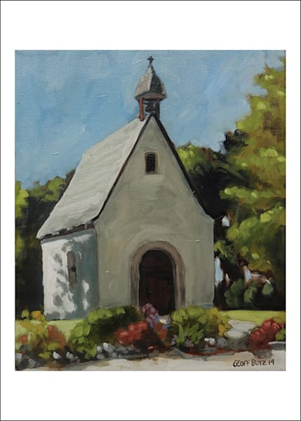 Schoenstatt Shrine   Milwaukee In Spring  Art Cards   Set Of 5 | Geoffrey Butz Art & Design Inc