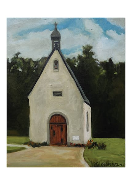 Schoenstatt Shrine Waukesha Wi In Spring Art Cards   Set Of 5 | Geoffrey Butz Art & Design Inc