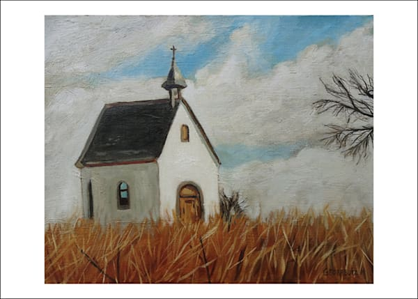 Schoenstatt Shrine Nebraska in the Fall  art cards - Set of 5
