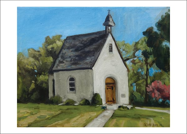 Schoenstatt Shrine Minnesota In Spring Art Cards   Set Of 5 | Geoffrey Butz Art & Design Inc
