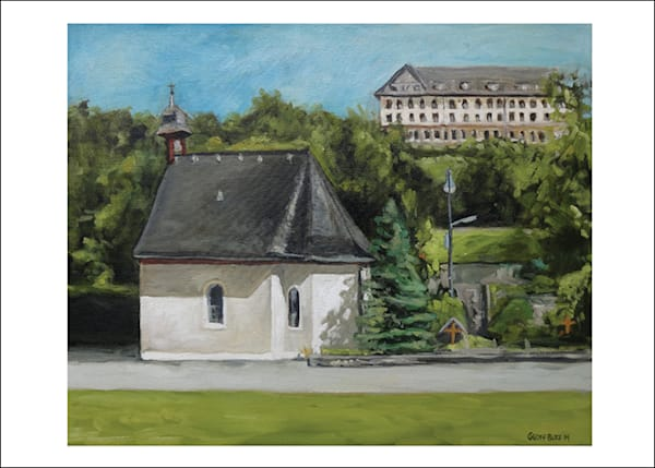 Schoenstatt Shrine Germany Art Cards   Set Of 5 Cards | Geoffrey Butz Art & Design Inc