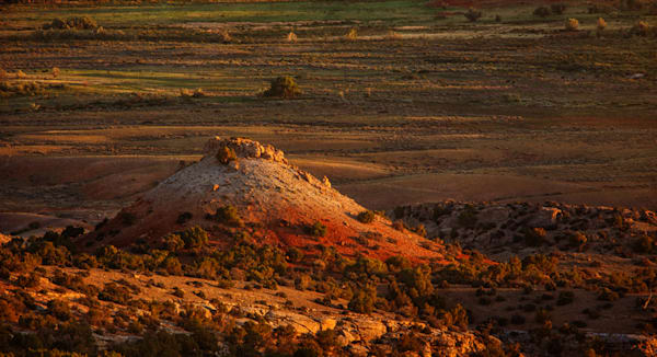 Sunset in the Wyoming Badlands