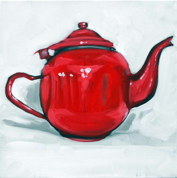 Red Tin Pot by Andrei Cicală | Prophetics Gallery