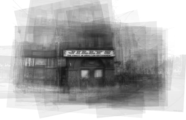Overlay art – contemporary fine art prints of Jilly's Toronto