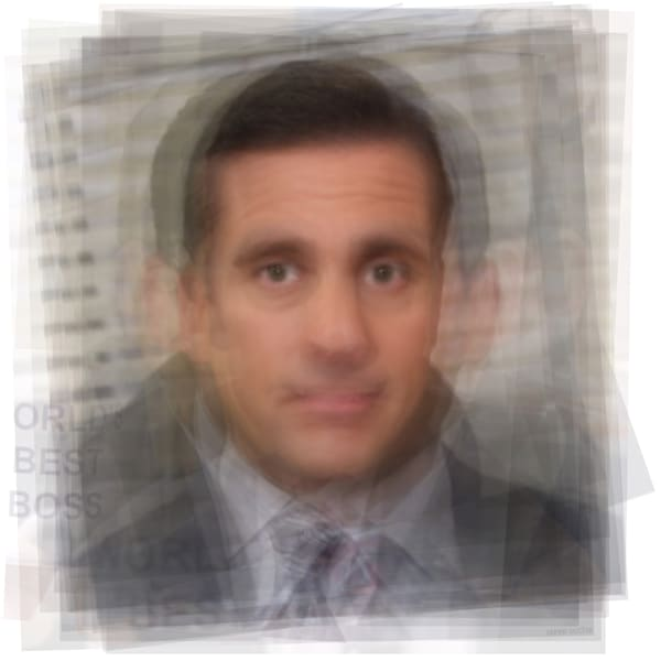 Overlay art – contemporary fine art prints of Michael Scott from the Office