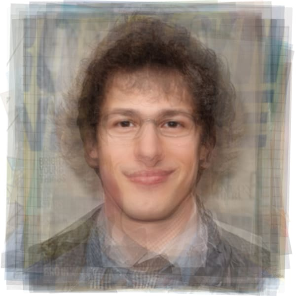 Overlay art – contemporary fine art prints of Andy Samberg