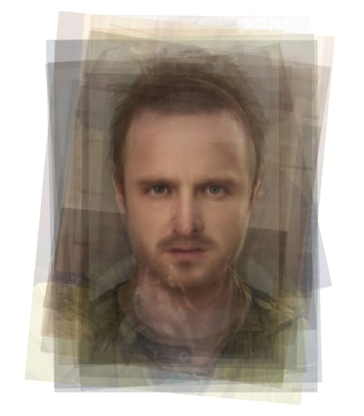 Overlay art – contemporary fine art prints of Jessie Pinkman