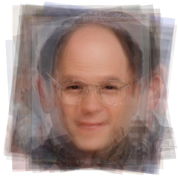 Overlay art – contemporary fine art prints of George Costanza