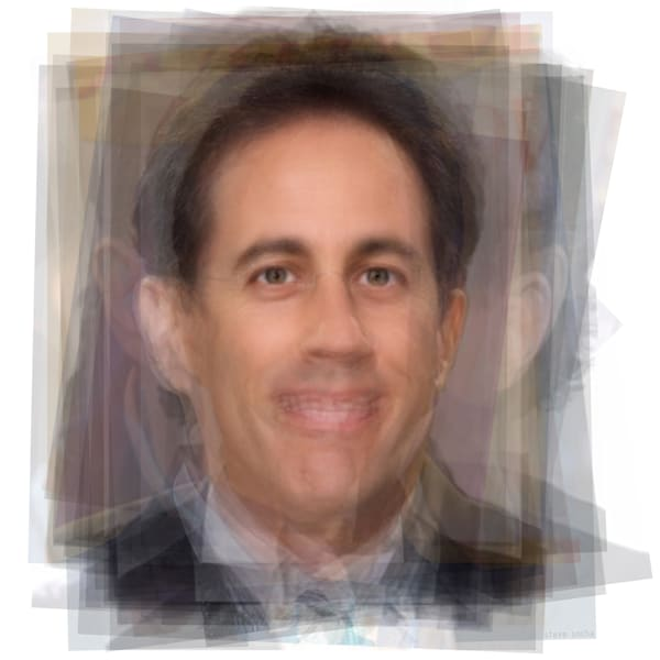 Overlay art – contemporary fine art prints of Jerry Seinfeld